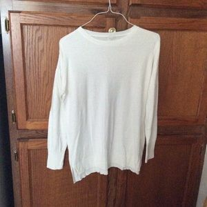 A new day women's sweater NWOT white +